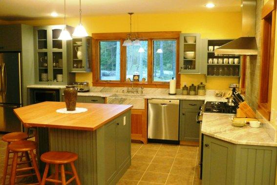Colorful latest kitchen designs toronto kitchen designs for Kitchen designs toronto