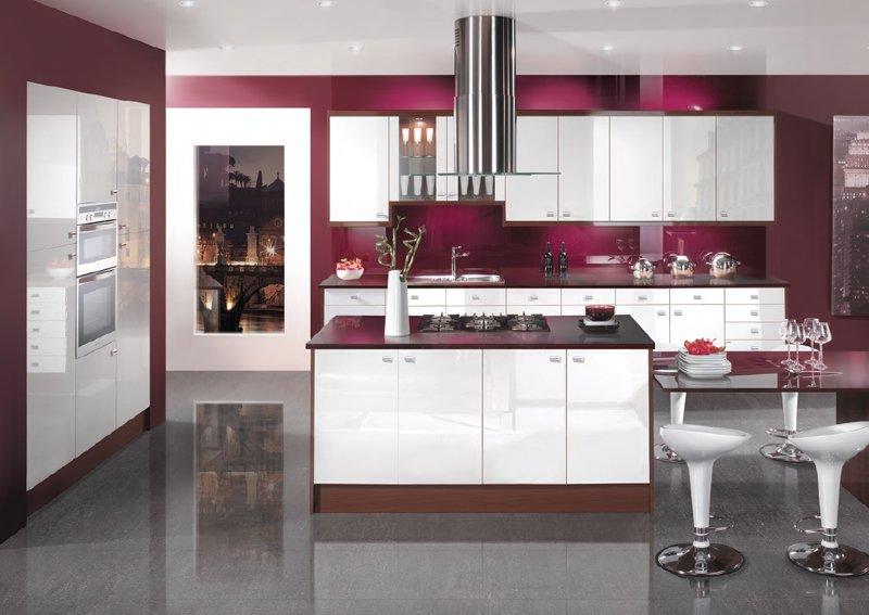 Colorful Latest Kitchen Designs | Toronto Kitchen Designs ...