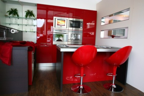 Colorful Latest Kitchen Designs