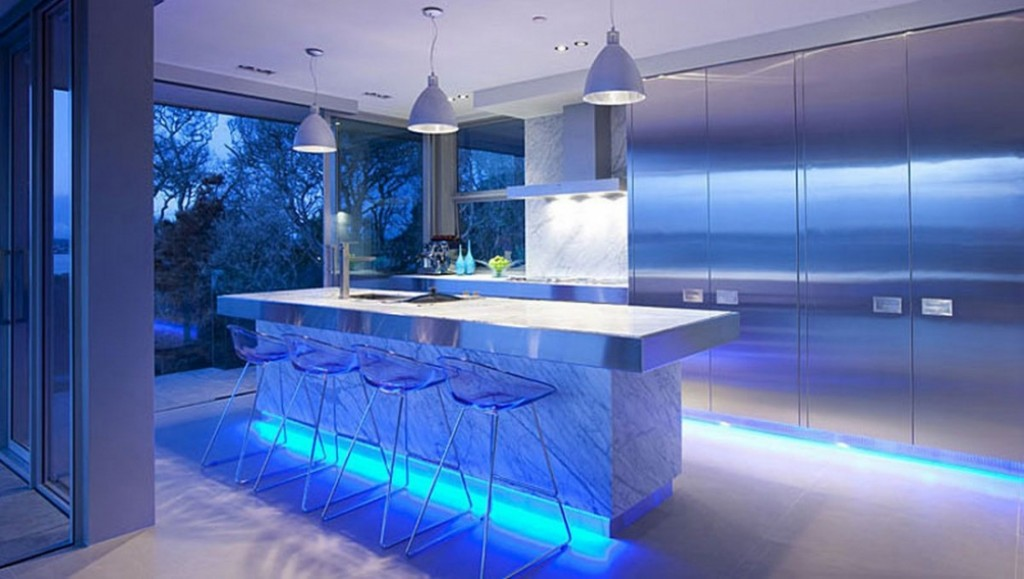 lighting arrangement in the kitchen bold pendant lights will be the