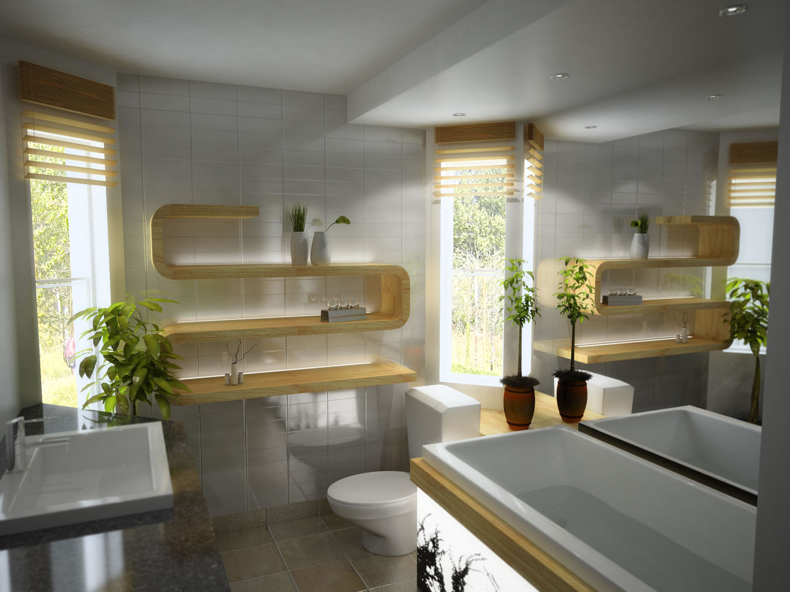 Some key elements which can impart completely a different for Bathroom designs 2013